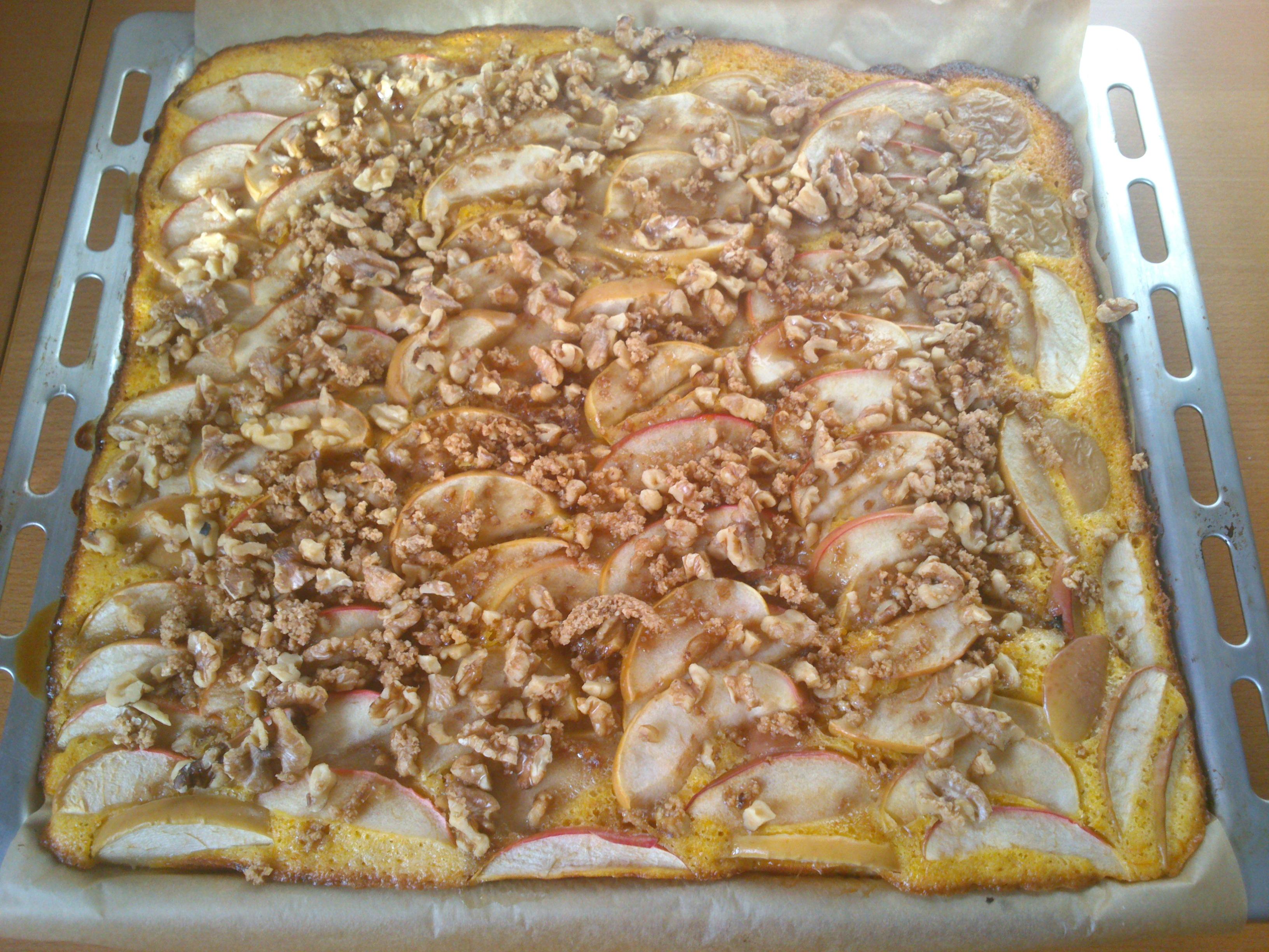Apfel-Kürbis-Kuchen